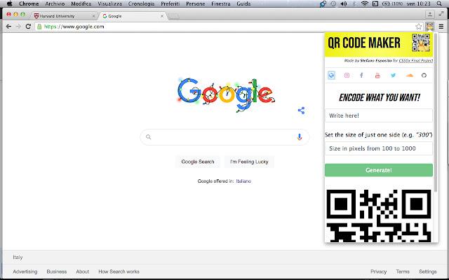 QR Code Maker!