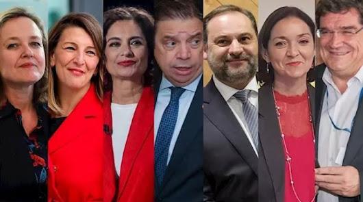 Así será el Gobierno de coalición, a falta de tres ministerios