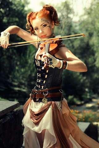 小提琴拼圖