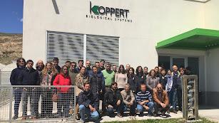 Miembros de Koppert España con distribuidores de la Península Ibérica.
