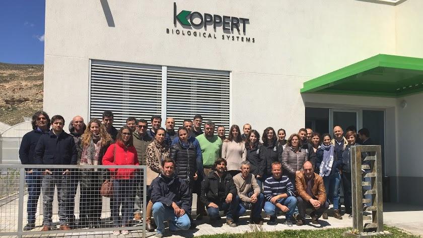 Koppert forma a distribuidores sobre las novedades en control biológico
