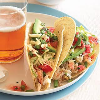 Crab Tacos.