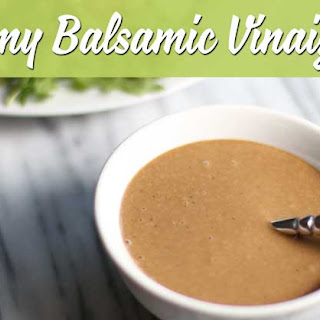 Creamy Balsamic Vinaigrette Recipes