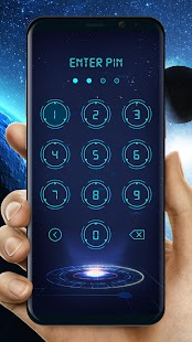 Enter PIN Code to Unlock Mobile Lockscreen - náhled