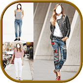 Face App for Jeans Montage