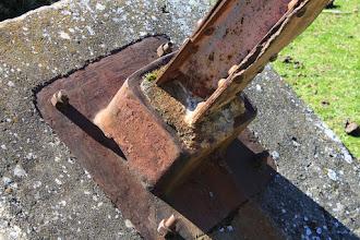 Photo: Detalle de castillete de Monteponi.