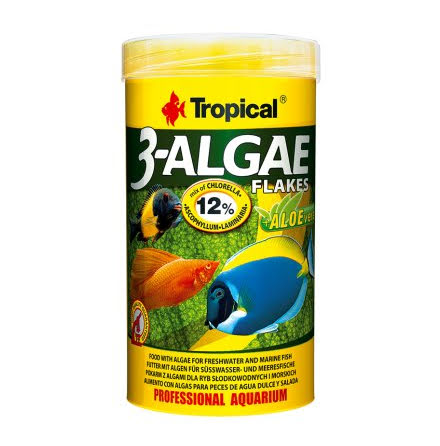 Tropical 3 Algae Flakes 250ml/50g