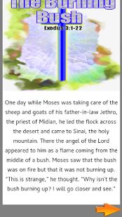 Bible Story : The Burning Bush - náhled