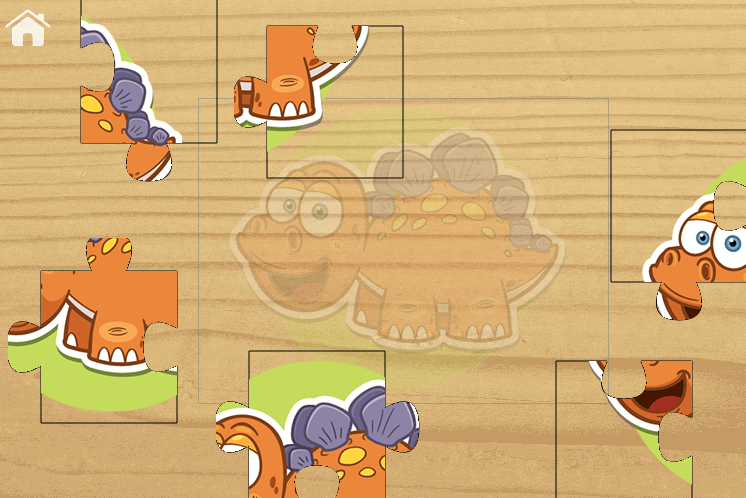 Jigsaw Puzzle For Kids Dino- screenshot