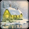 Snowfall background wallpape icon