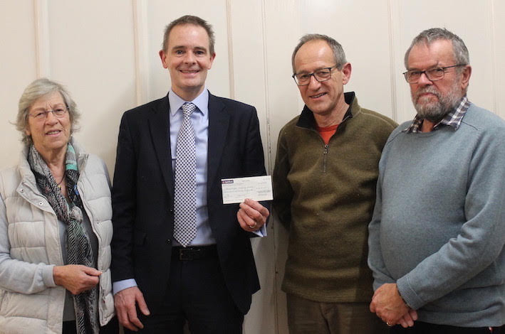 Guilsfield Show makes local donations
