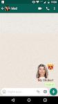 screenshot of Create custom stickers to WhatsApp - WAStickerApps