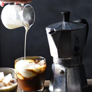 Hazelnut Espresso White Russians.