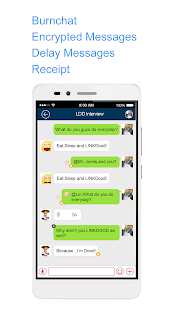 LiNKDOOD Communication Android-Next Gen Chats App - náhled