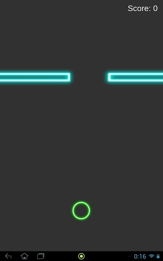 Neon Ball- screenshot