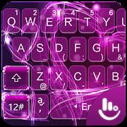 App Purple Sparkling Love Heart Keyboard Theme APK for Windows Phone