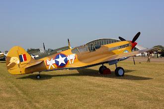 Photo: Curtiss P-40F Warhawk
