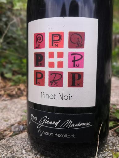 Pinot Noir AOP - Cépage Pinot Noir - Domaine Yves Girard-Madoux - Vignoble de la Pierre - Vin de Savoie - Chignin