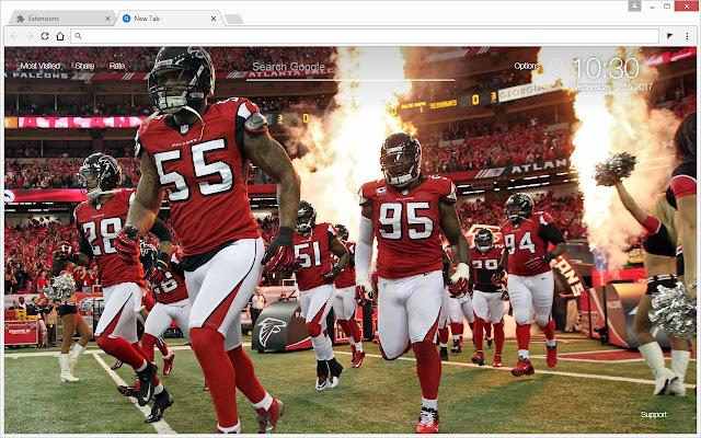Discount NFL Atlanta Falcons Wallpapers HD New Tab  supplier