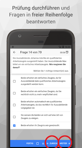 Screenshot for AEVO-Held Prüfungsvorbereitung in Hong Kong Play Store