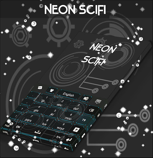 玩個人化App|ネオンサイファイGOキーボード免費|APP試玩