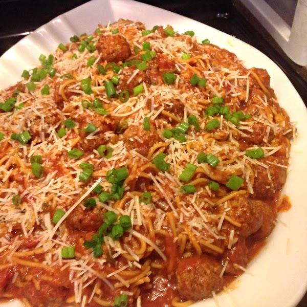 Mountain Dew Spaghetti & Meat Balls Supreme Recipe