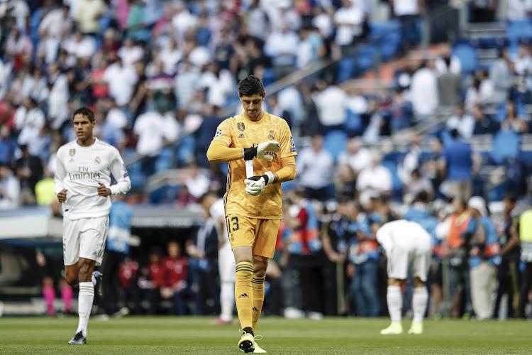 Zinédine Zidane reste vague sur la situation de Thibaut Courtois