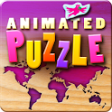 Animated Puzzle for Kids icon