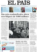 Photo: Dos cajas nacionalizadas abren otro boquete de 9.000 millones y EL PAÍS reconstruye el increíble viaje del conjunto de estilo románico de Palamós, en la portada del viernes 8 de junio de 2012 http://srv00.epimg.net/pdf/elpais/1aPagina/2012/06/ep-20120608.pdf