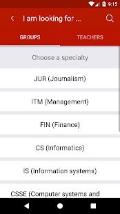 Schedule IITU - náhled