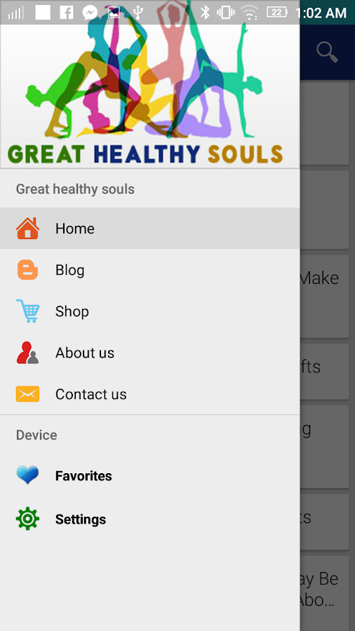 Great healthy souls- screenshot
