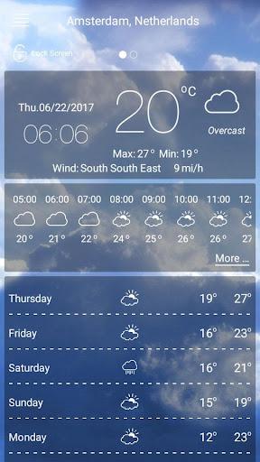 Wettervorhersage screenshot 2