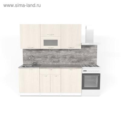 Кухонный гарнитур Лариса макси 1 1800 мм