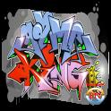 lettering graffiti icon