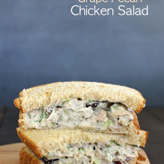 Grape Pecan Chicken Salad