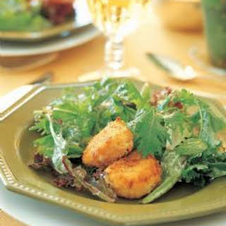 Salad with Warm Goat Cheese.