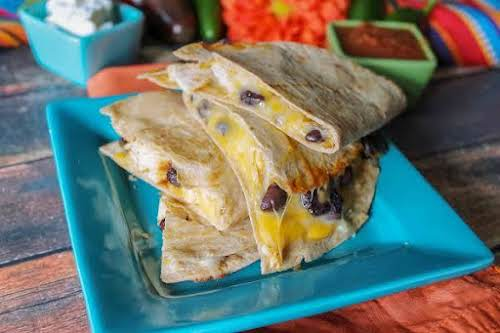 "Mamma's Skinny Quesadillas ""We also love Mexican food, especially Quesadillas with chicken...."