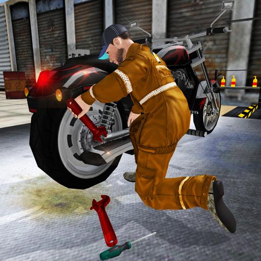 Motobike Mechanic workshop Sim