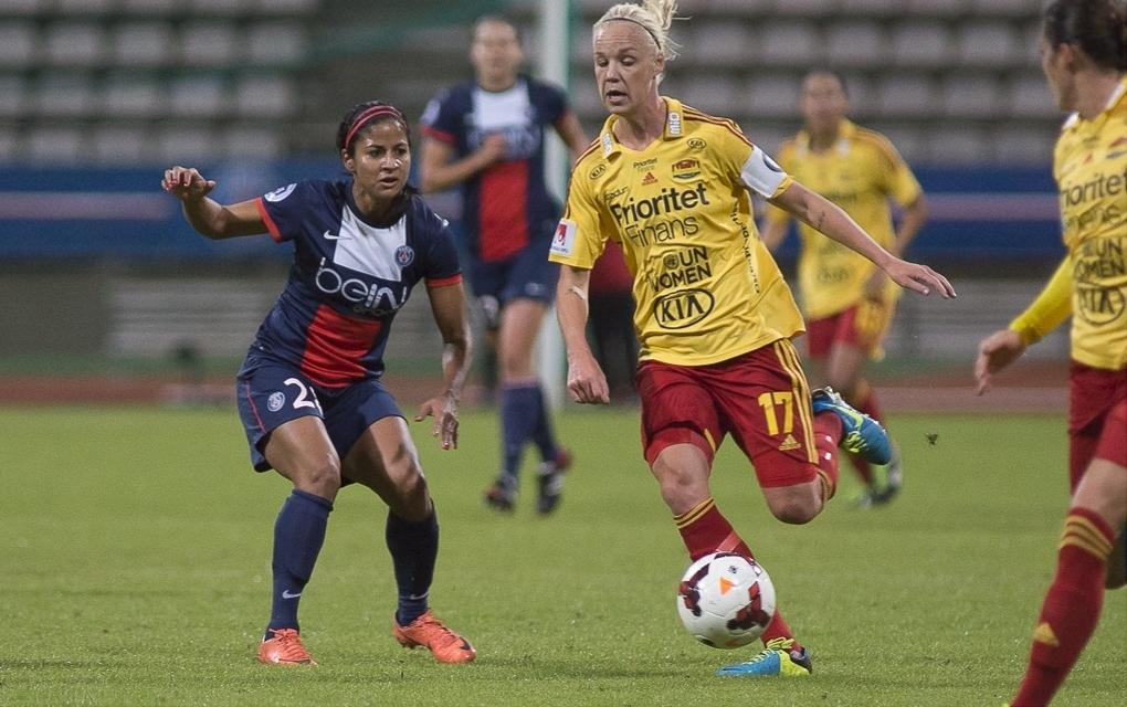 Experience tells as Tyresö oust ambitious PSG | UEFA Women's ...