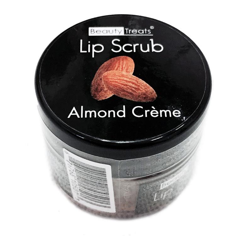 Beauty Treat Sugar Lip Scrub Mask with Vitamin E - Almond Crème by Supermodels Secrets