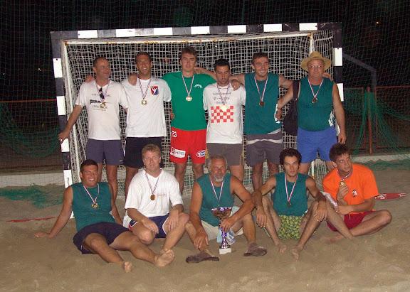 Dugi Rat - prvak RH u rukometu na pijesku 2007
