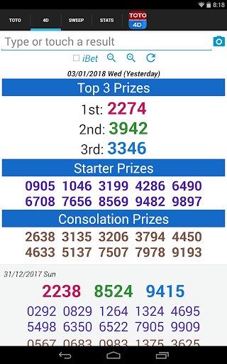 SG TOTO 4D SWEEP by nctam (Google Play, United States) - SearchMan