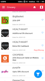 Vito - Coupons & Offers- screenshot thumbnail