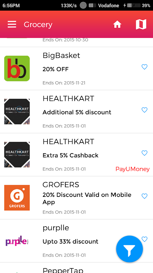Vito - Coupons & Offers- screenshot