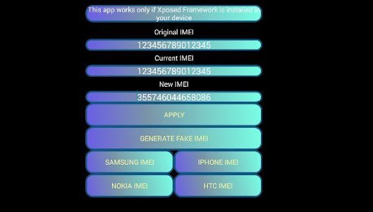 IMEI Changer Pro v1.01 (Patched)