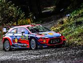 Thierry Neuville voorlopig op de tweede plaats in Wales Rally GB
