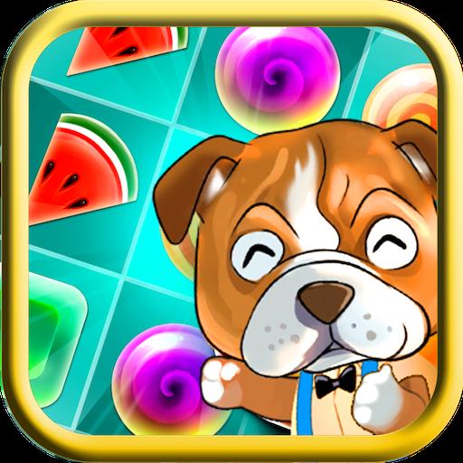 Bulldog Candy Match 3