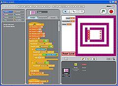 Scratch让编程变得像搭积木一样 - 李二嫂的猪 - 翱翔的板儿砖