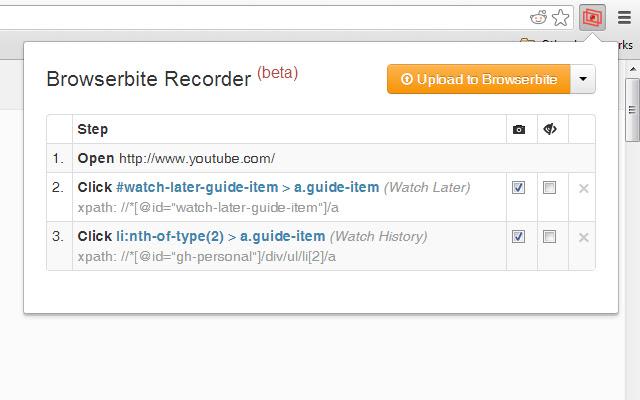 Browserbite Recorder (beta)