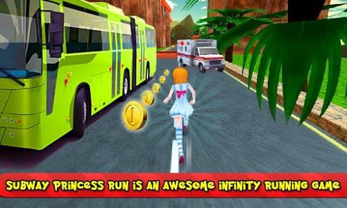 Subway Princess Bus Rush Run screenshot 0